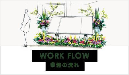 業務の流れ WORK FLOW